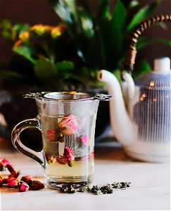 Foto Rose flower tea