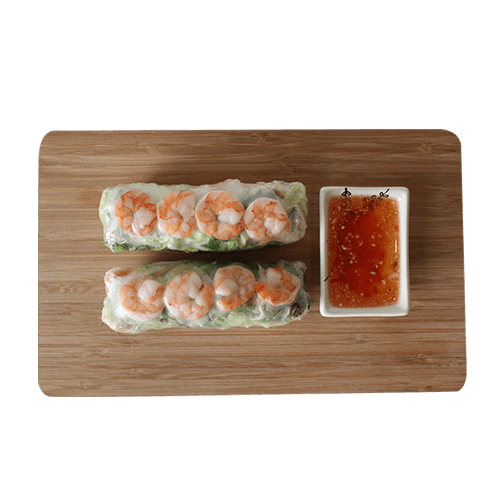 Foto Shrimps rolls